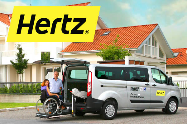 Furgone Hertz Easy Mover per turismo accessibile